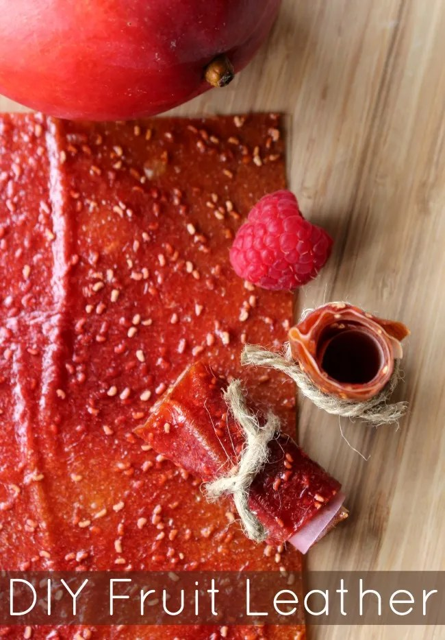 Easy DIY fruit leather