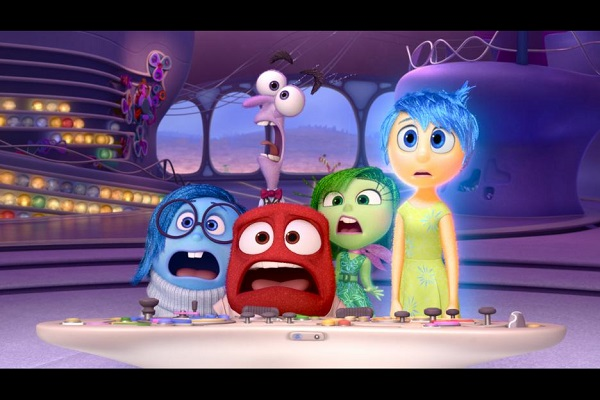 Inside out movie kids