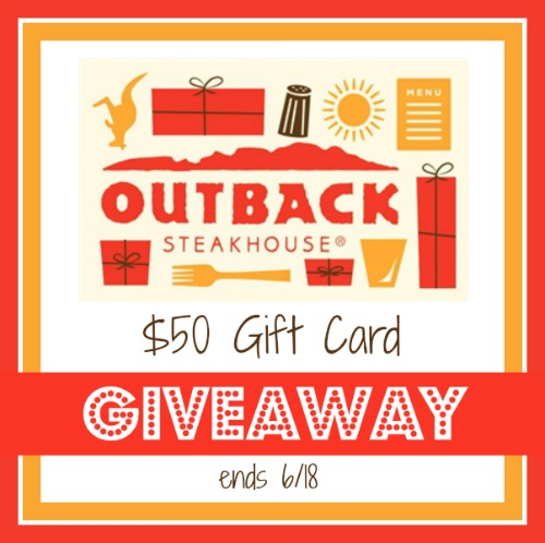 Outback gift card giveaway