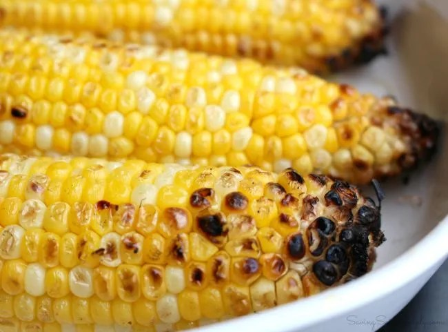 Easy grilled corn recipe