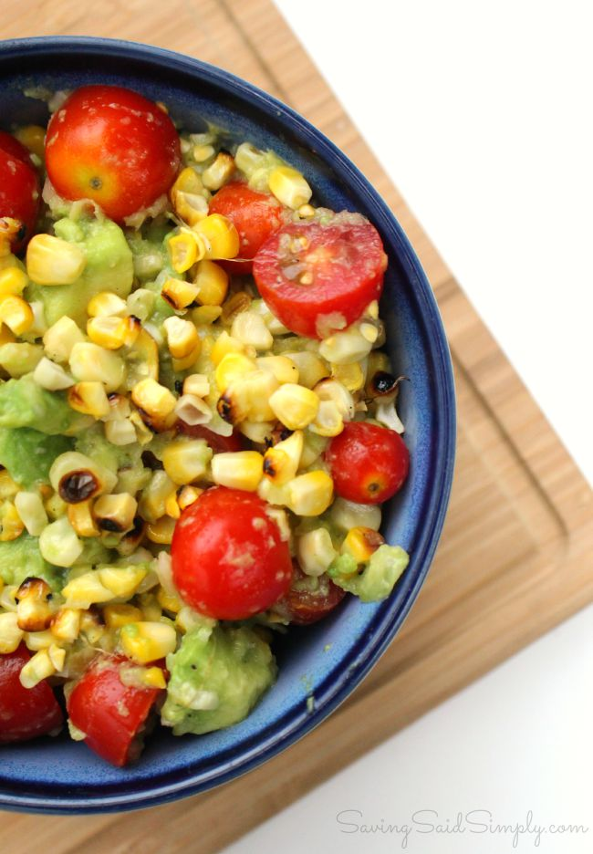 Easy grilled corn side dish paleo