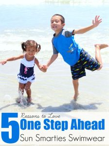 5 Reasons to Love One Step Ahead Sun Smarties Swimwear + Giveaway