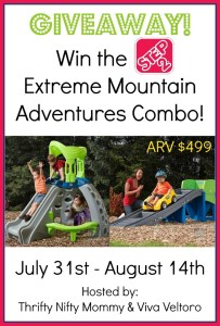 Step2 Extreme Mountain Adventures Combo Giveaway – $499 Value