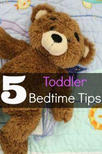 Toddler Bedtime Tips