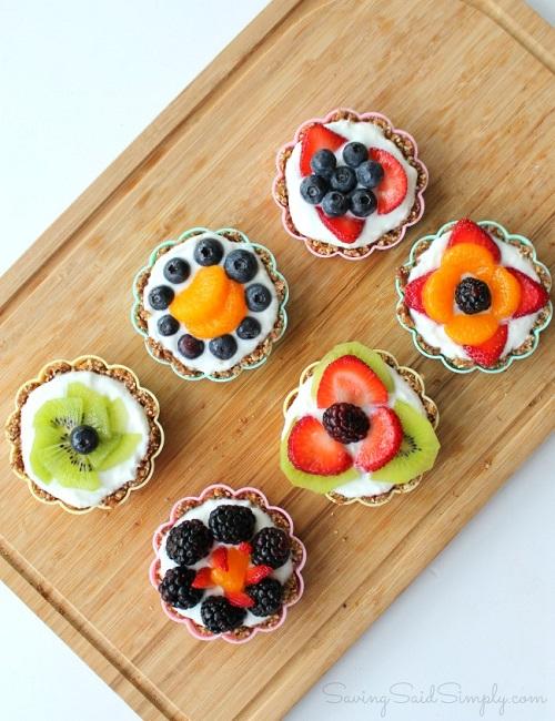 Easy fruit tarts no bake recipe