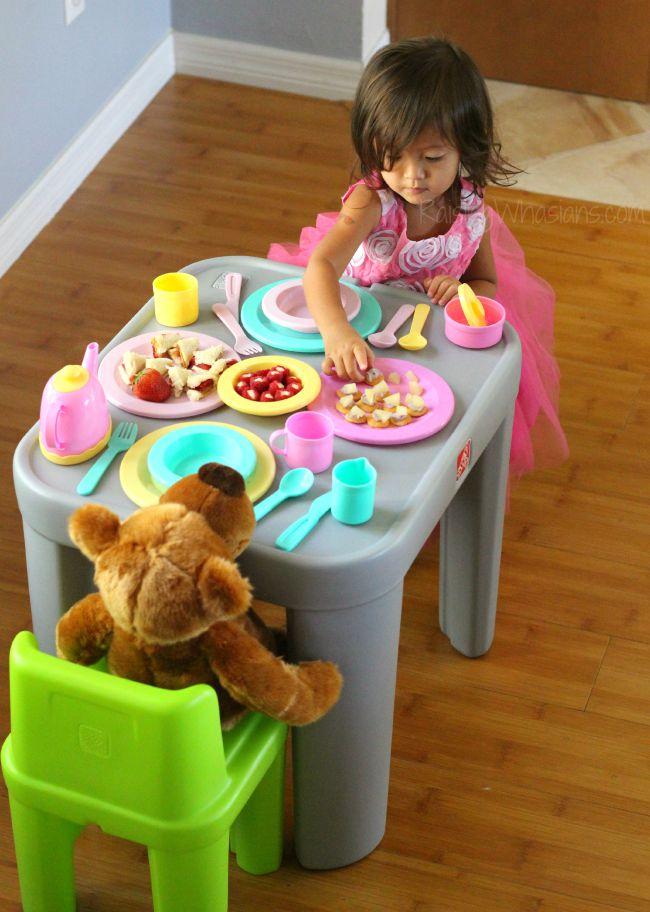 Kids tea party ideas