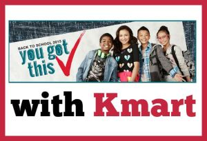 Save on Back-to-School Essentials at Kmart + $100 Giveaway