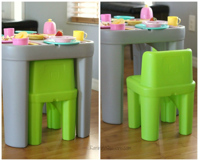 Step2 mighty my size table chairs review