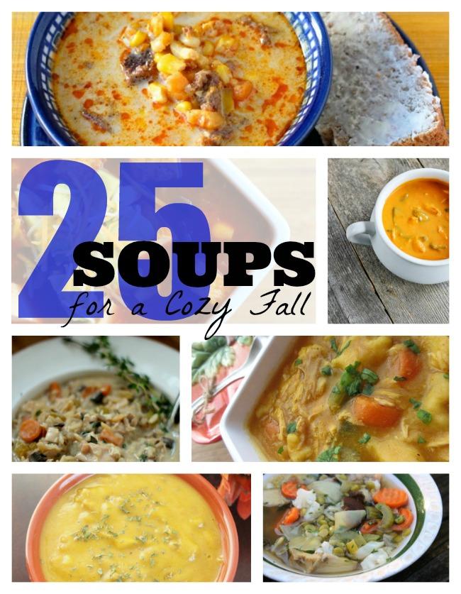 Soup recipes for a cozy fall season