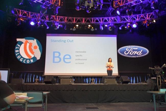 Speaking FlBlogcon