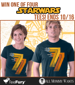 Star Wars Tee Giveaway – 4 Winners!