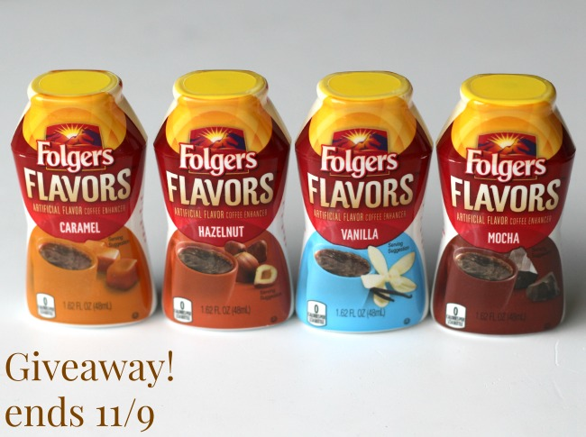Folgers flavors giveaway