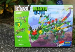 K'NEX Beasts Alive Stompz Building Set Review + Giveaway