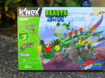 KNEX beasts alive stompza building set review