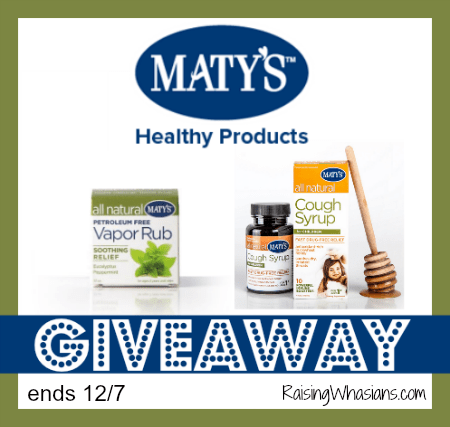 Matys healthy products giveaway