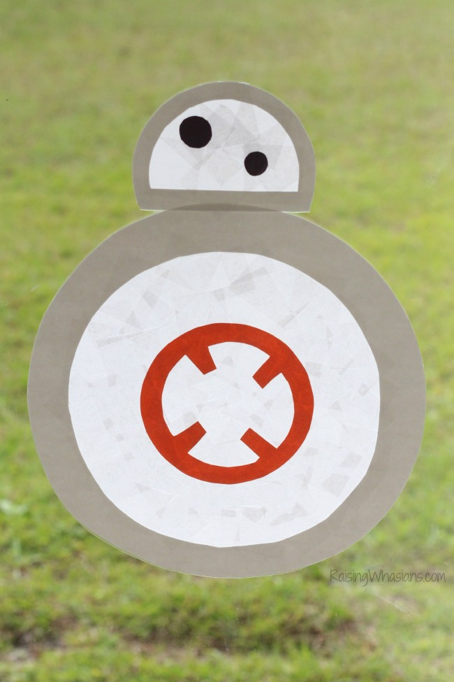BB-8 craft for kids