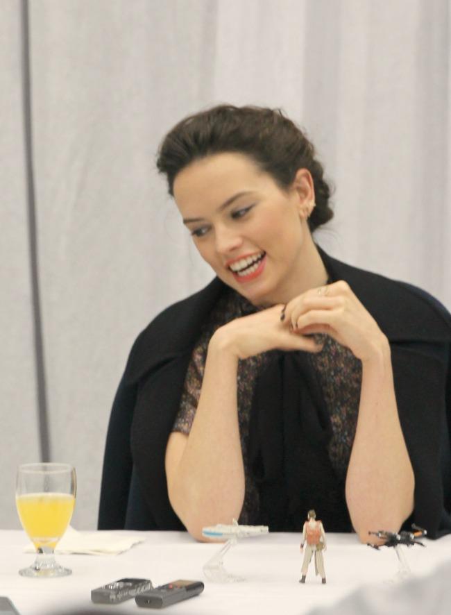 Daisy ridley luke skywalker interview