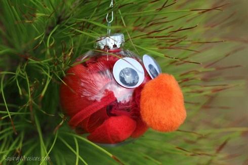 Easy Elmo ornament