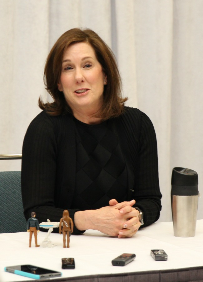 Exclusive Kathleen Kennedy interview