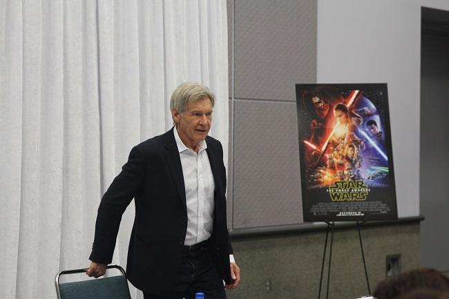 Harrison ford star wars interview