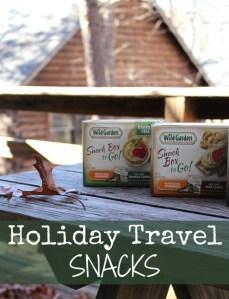 Holiday Travel Snacks + Wild Garden Hummus Snack Box To Go Giveaway