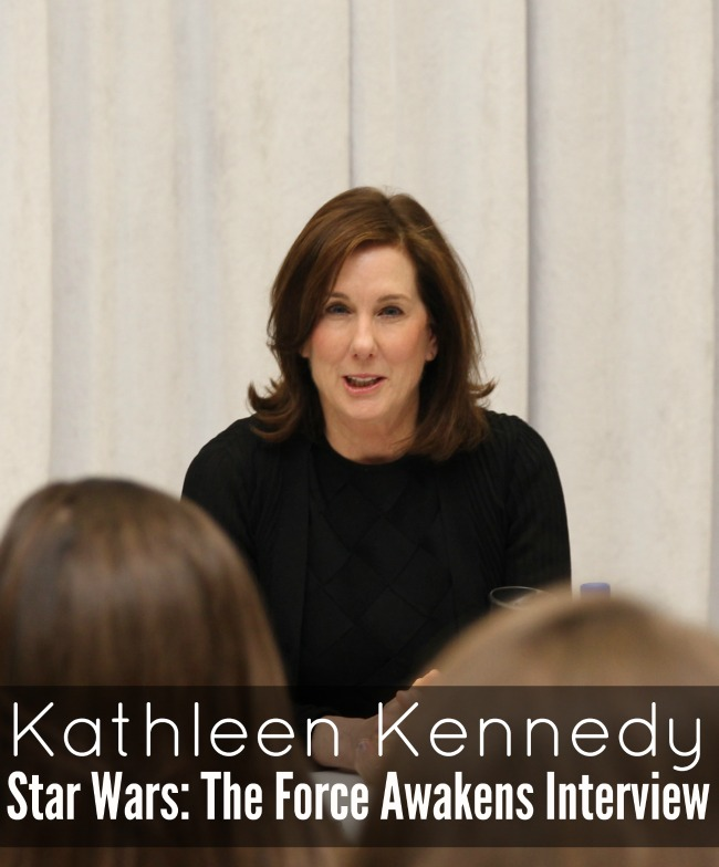 Kathleen Kennedy interview for star wars the force awakens