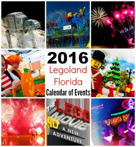 2016 Legoland Florida Calendar of Events + Ticket Offers