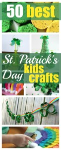 50 Best St. Patrick's Day Crafts for Kids