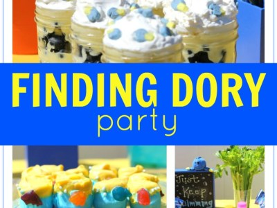 DIY finding Dory party