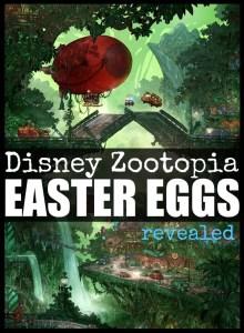 3 Disney Zootopia Easter Eggs Revealed #ZootopiaEvent