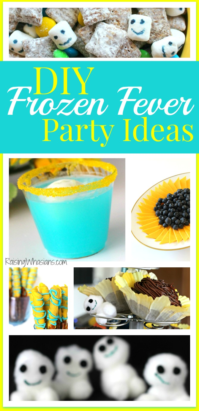 DIY Frozen Fever Party | Disney Frozen Fever Party on a budget - food, decor, crafts and more, perfect for a birthday party - Frozen Birthday Party ideas - #PartyPlanning #FrozenFever #DisneyParty #Disney #BirthdayParty