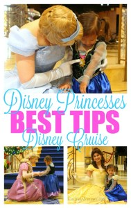Seeing Disney princesses best tips disney cruise