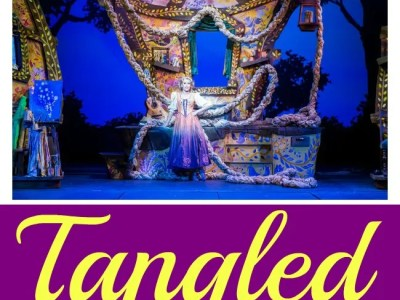 Disney magics tangled the musical
