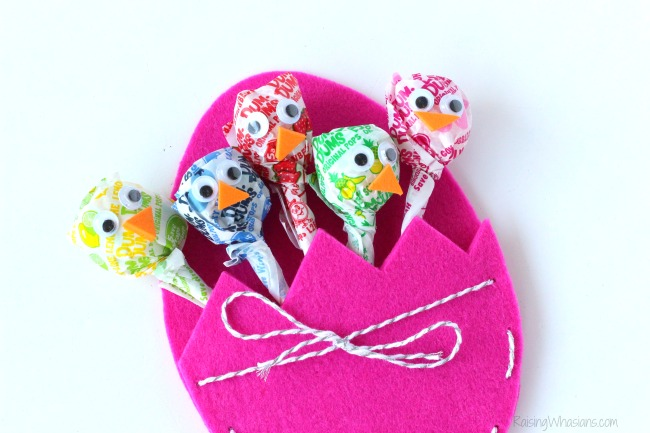 Easter lollipop craft