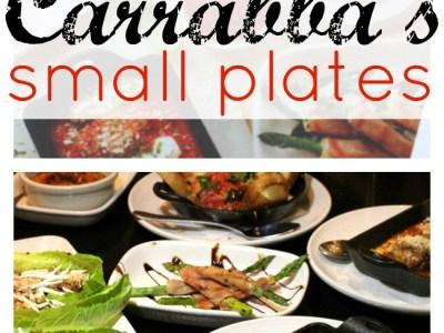 New Carrabbas small plates