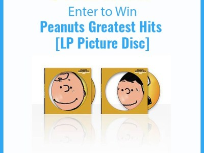 Peanuts greatest hits collectable vinyl giveaway