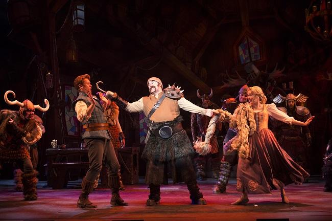 Tangled the musical Disney magic