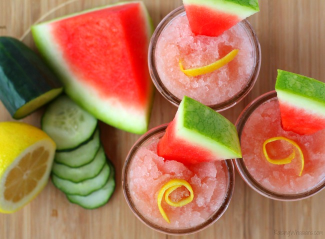Watermelon slush drink allergy friendly