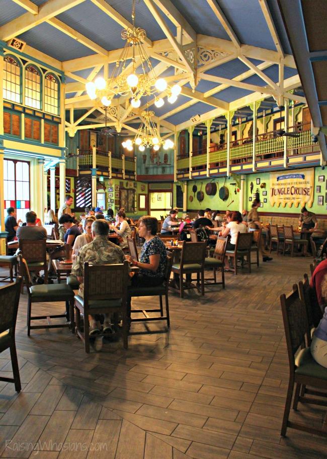 Jungle skipper canteen restaurant photo tour
