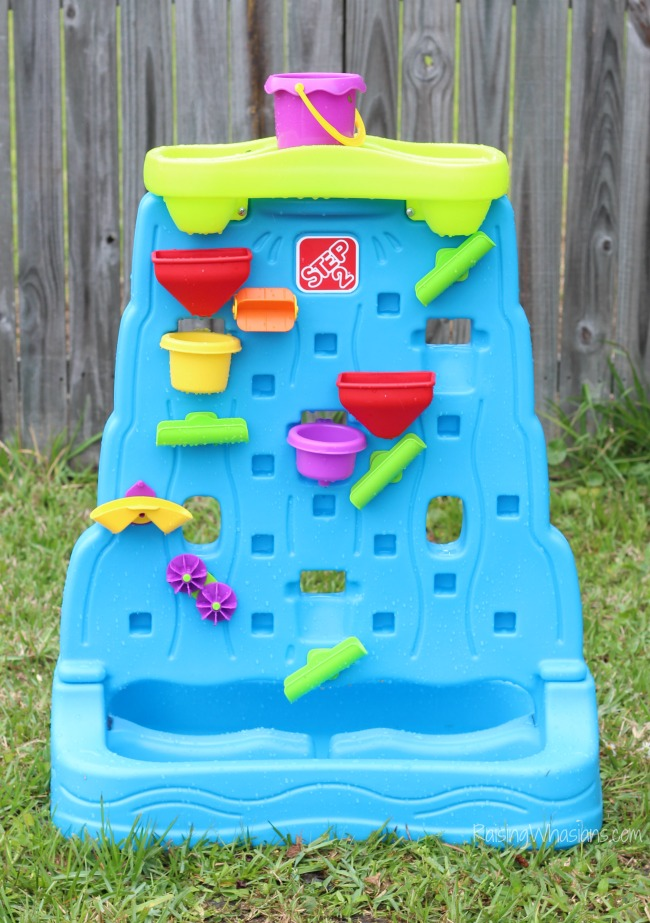 Step2 waterfall discovery wall toy review