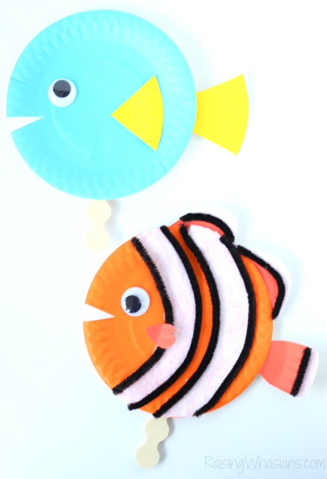 Finding Dory craft idea toddlers