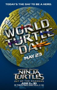 Celebrate World Turtle Day with TMNT2 + Giveaway