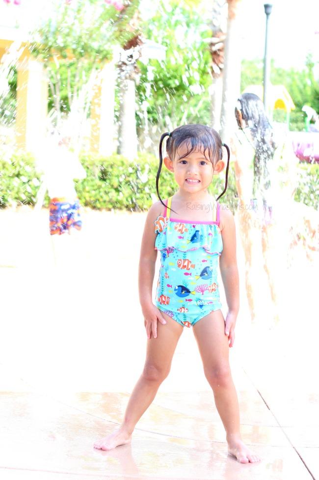 Best finding Dory swimsuit for girls