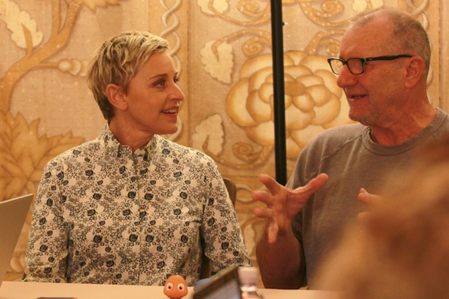 Ellen DeGeneres interview Ed O'Neill