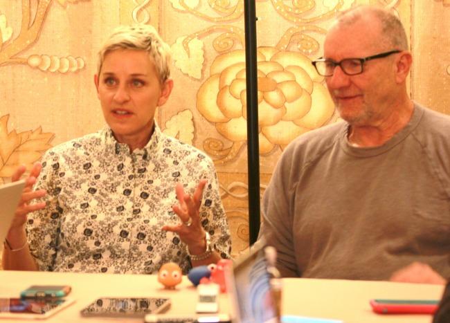 Exclusive Ellen interview finding Dory