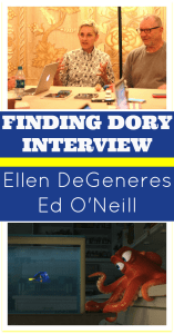 Finding Dory Interview | When I Danced with Ellen DeGeneres & Ed O'Neill #FindingDoryEvent