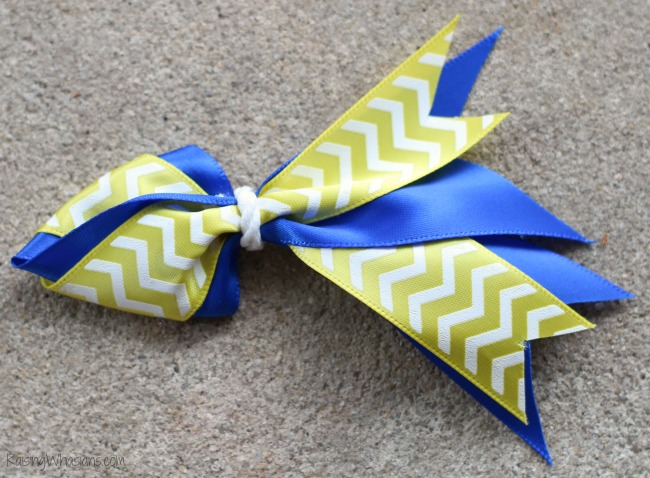 Finding Dory no sew hair bow