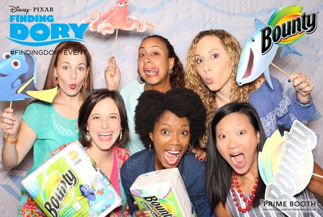 Finding Dory photo booth