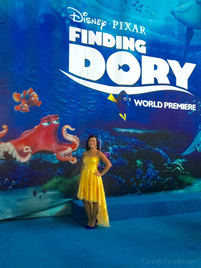 Finding Dory red carpet