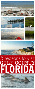 5 Reasons for Your Family to Visit Gulf County Florida + $50 AMEX Giveaway